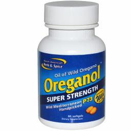 NAHS Oreganol P73 SUPER STRENGTH-Oil Of Wild Oregano 60 soft-gel caps