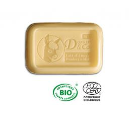 DONKEY'S & CO.| CERTIFIED ORGANIC SOAP| SWEET ALMOND & BAY LEAF| 100G