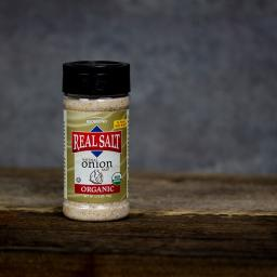 Redmond Real Salt Organic Onion Salt [Shaker 135-234g]