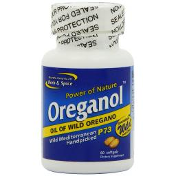 NAHS Oreganol P73 ORIGINAL STRENGTH-Oil Of Wild Oregano 60 soft-gel caps