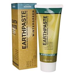 Earthpaste| Natural Clay Toothpaste| Wintergreen| 113g