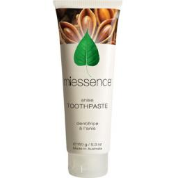 Miessence Certified Organics Aloe Vera Toothpaste with Star Anise & Fennel [150g]