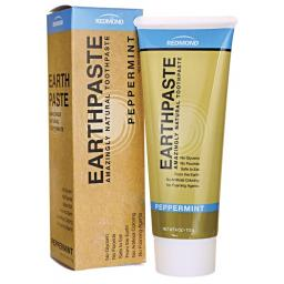 Earthpaste| Natural Clay Toothpaste| Peppermint| 113g
