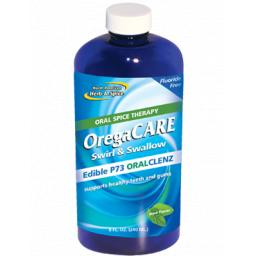 OregaCARE Swirl & Swallow Mouthwash mint flavour 240ml