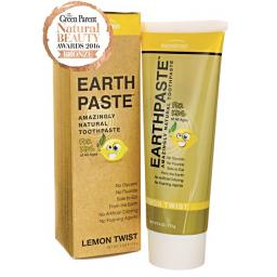 Earthpaste| Natural Clay Toothpaste| Lemon Twist - loved by kids| 113g
