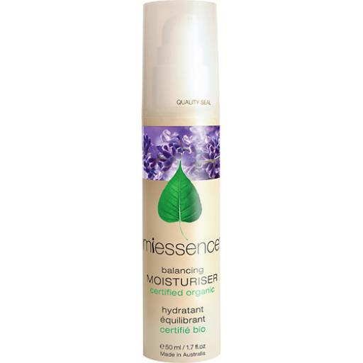 MiEssence Certified Organics - Balancing Moisturiser for normal & combination skin 50ml