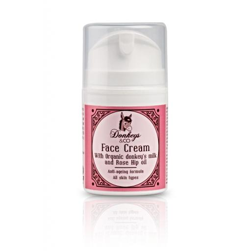 Donkey's & Co - Anti-Ageing Face Cream with organic donkey milk 50 ml