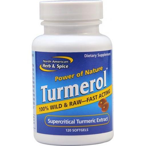 NAHS Raw TURMEROL - 100% Wild Turmeric Oil