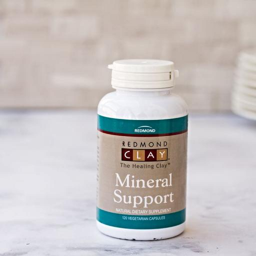 Redmond Clay - Mineral Support 120 caps