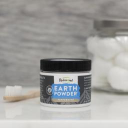 Earthpowder - Clay Toothpowder Peppermint Charcoal
