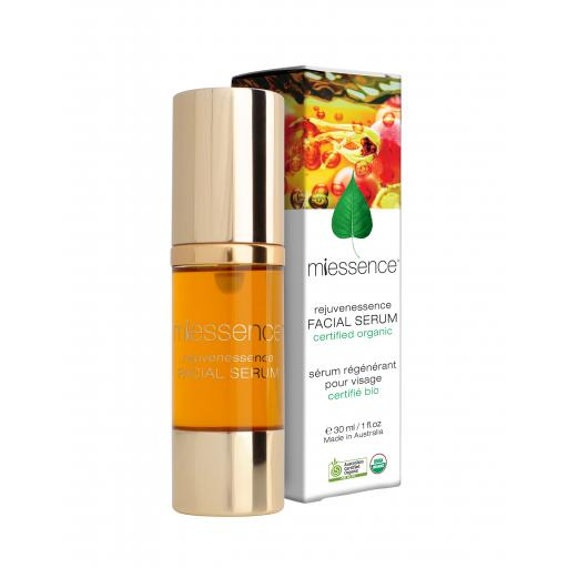Miessence Certified Organics - Rejuvenessence Facial Serum for stressed & ageing skin 30ml