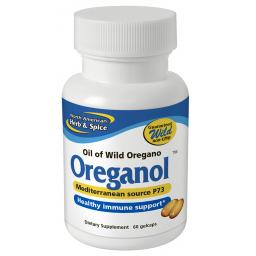 NAHS Oreganol P73 ORIGINAL STRENGTH - Oil Of Wild Oregano [60 soft-gel caps]
