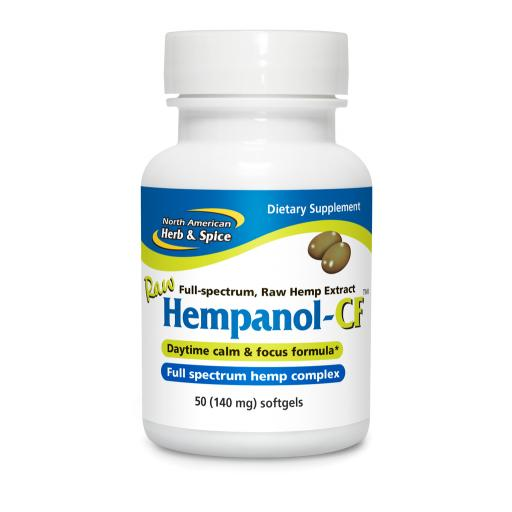 NAHS Hempanol - CF Raw Cannabis Extract [50 softgels]