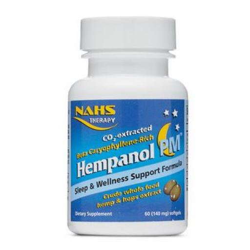 NAHS Hempanol PM - Sleep & Wellness Support Formula